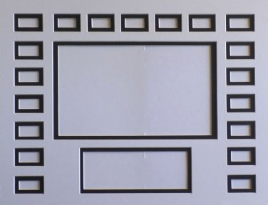 Pre-Cut Film Cell Mat Double 16 x 20 New Style #1