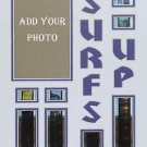 "Custom Color Double Film Cell Mount Mat Matte 11 x 14  Free Clips Of ""SURFS UP"""