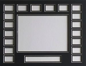 Film Cell Mat Custom Double 11 x 14 18 Openings