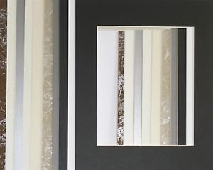 10 Pack 11 x 14 Photo Mats Mounts Assorted Color & Openings Single #2