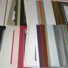 50 Pack  5 x 7 Photo Mats Assorted Color & Style #2