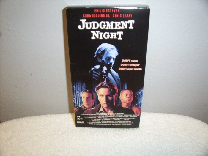 Judgement Night VHS Used