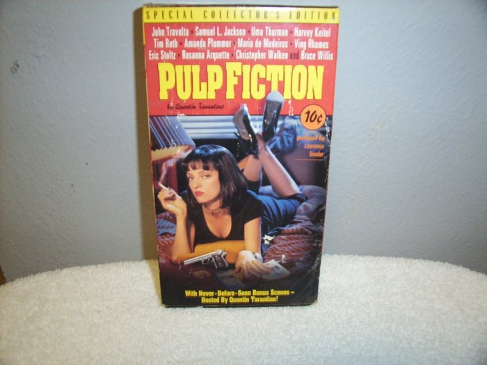 Pulp Fiction Special Collectors Edition VHS Used