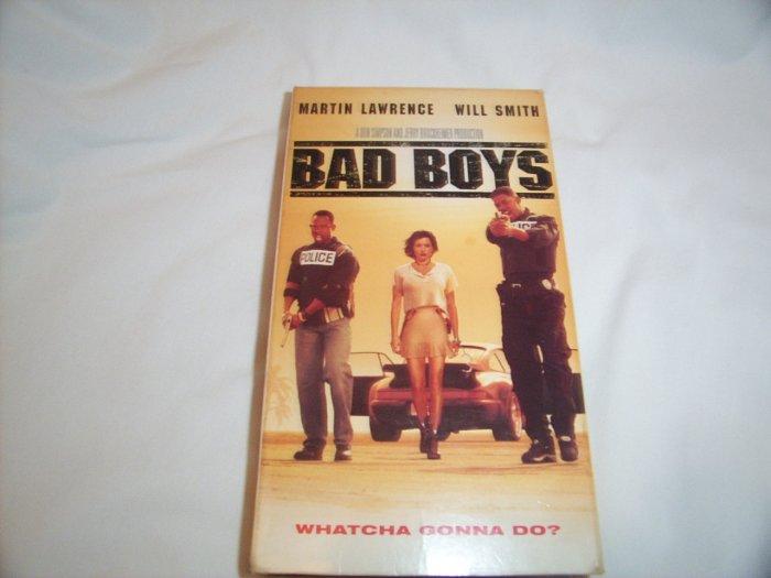 Bad Boys (1995) VHS