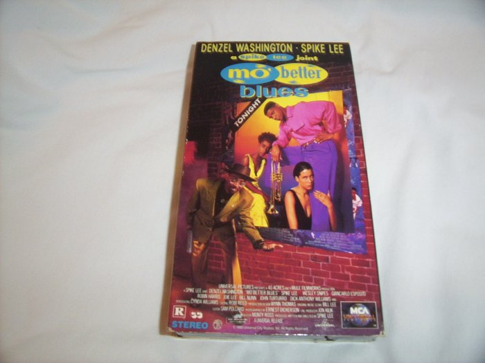 Mo' Better Blues (1990) VHS