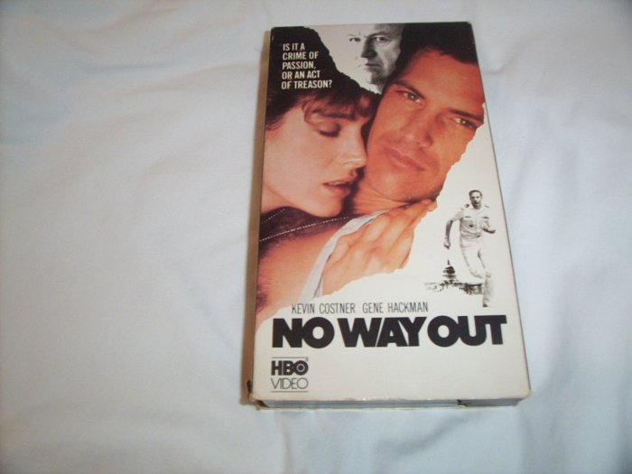 No Way Out (1987) VHS