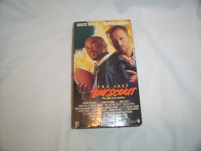 The Last Boy Scout (1991) VHS