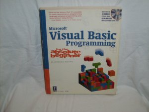 Visual Basic Programming for the Absolute Beginner w/CD by Michael Vine (Softcover 2001)