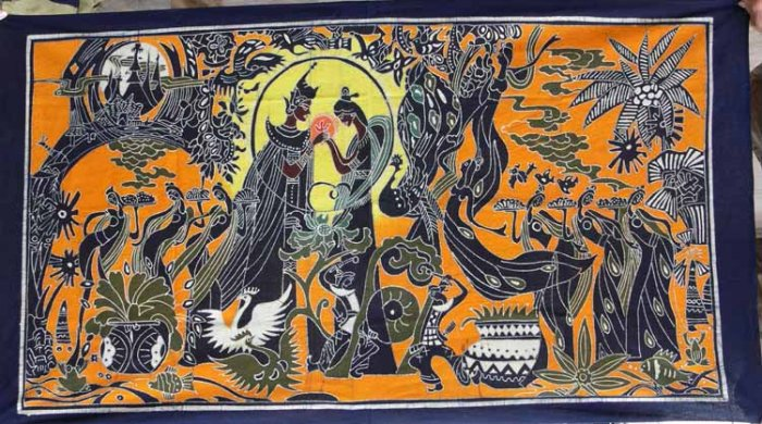 Wax printing(Batik)