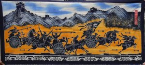 the great wall fight wax printing
