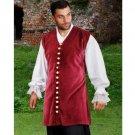 Captain Benjamin Hornigold Vest - XXX-Large - On Sale
