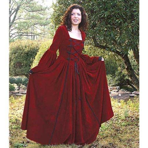Scarlet Dream Velvet Dress � Medium