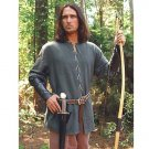 Green Cotton Medieval Outlaw Shirt - S/M