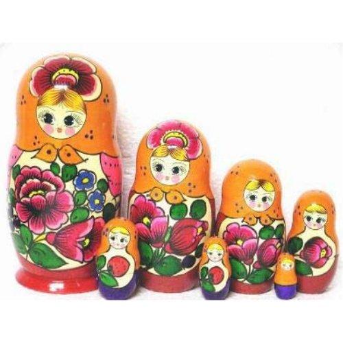 "Polkhovski Maidan Doll 7pc. - 8"""