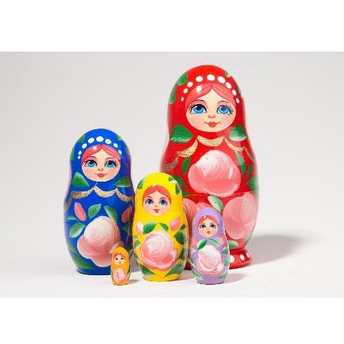 "Art Doll ""Rainbow"" 5pc. - 4"""