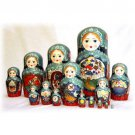 Czar Saltan Doll 15pc. - 12""