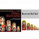 The Littlest Matryoshka Book & Doll Set