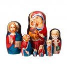 Icon Glitter Matryoshka 7pc. - 8""