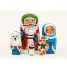 Polar Christmas Doll 5pc. - 5""
