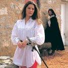 Swordswoman's Shirt - White, S/M