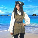 Mary Read Pirate Vest - S/M