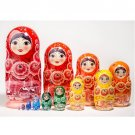 Colorwheel Doll 12pc. - 11""