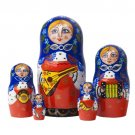 Balalaika Classical Doll 5pc. - 6""
