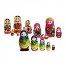 Set of 3 Area Dolls
