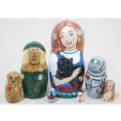 Wizard of Oz Doll 7pc. - 6""