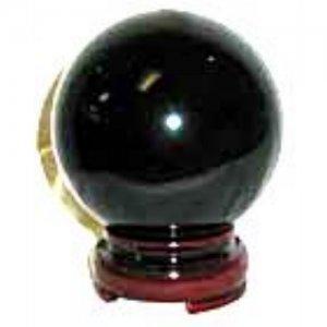 Black Crystal Ball - 50mm