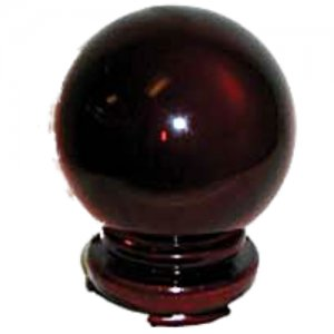 Red Crystal Ball - 80mm