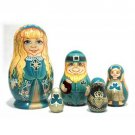 Irish Nesting Doll 5pc. - 5""