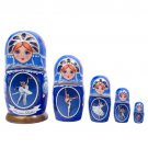 Russian Ballet Nesting Doll 5pc. - 6""