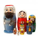 Holy Family Nesting Doll 7pc. - 6""