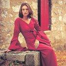 Pleasant Peasant Medieval Dress, Berry - X-Large