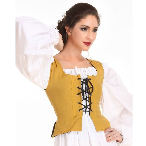 Peasant Bodice � Gold, Medium