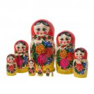 Semenov Doll 9pc. - 9""