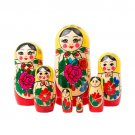 Authentic Russian Semenov Doll 7pc. - 6""