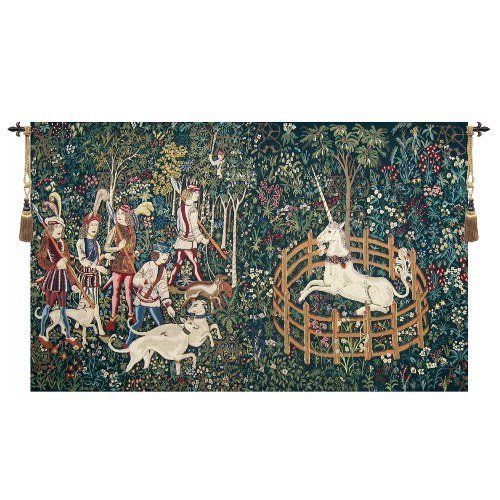 Unicorn Captive and Unicorn Hunt - H 68 x W 112