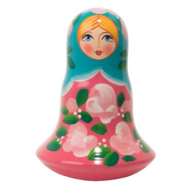 "Pink Classical Nevalasha Chime Doll 5"""