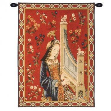 Dame A La Licorne I - H 38 x W 28