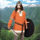 Noble's Cotton Viking Tunic – Orange, S/M