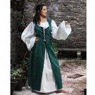Ameline Country Maid Skirt w/Bodice – Green, Medium