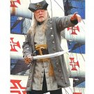 Buccaneer Wool Pirate Coat - Grey, XX-Large