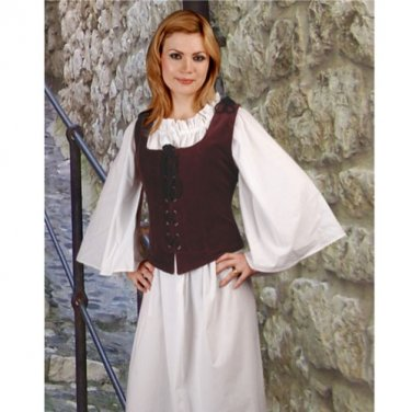 Noble Bodice � Aubergine, X-Large