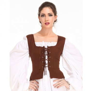 Peasant Bodice � Chocolate, Small
