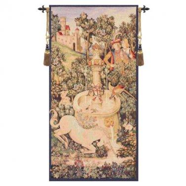 Portiere Licorne Fontaine - H 58 x W 29
