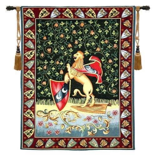 Lion Medieval - H 33 x W 26