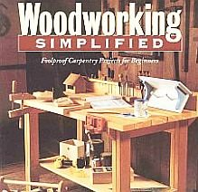 Woodworking Simplified by David And Jeanie Stiles Tools Design 19 Projects Plans Woodworkers SC Book