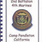 Marines 2nd Battalion 4th Marines Camp Pendleton 1st Marine Division Recipes SC Cookbook